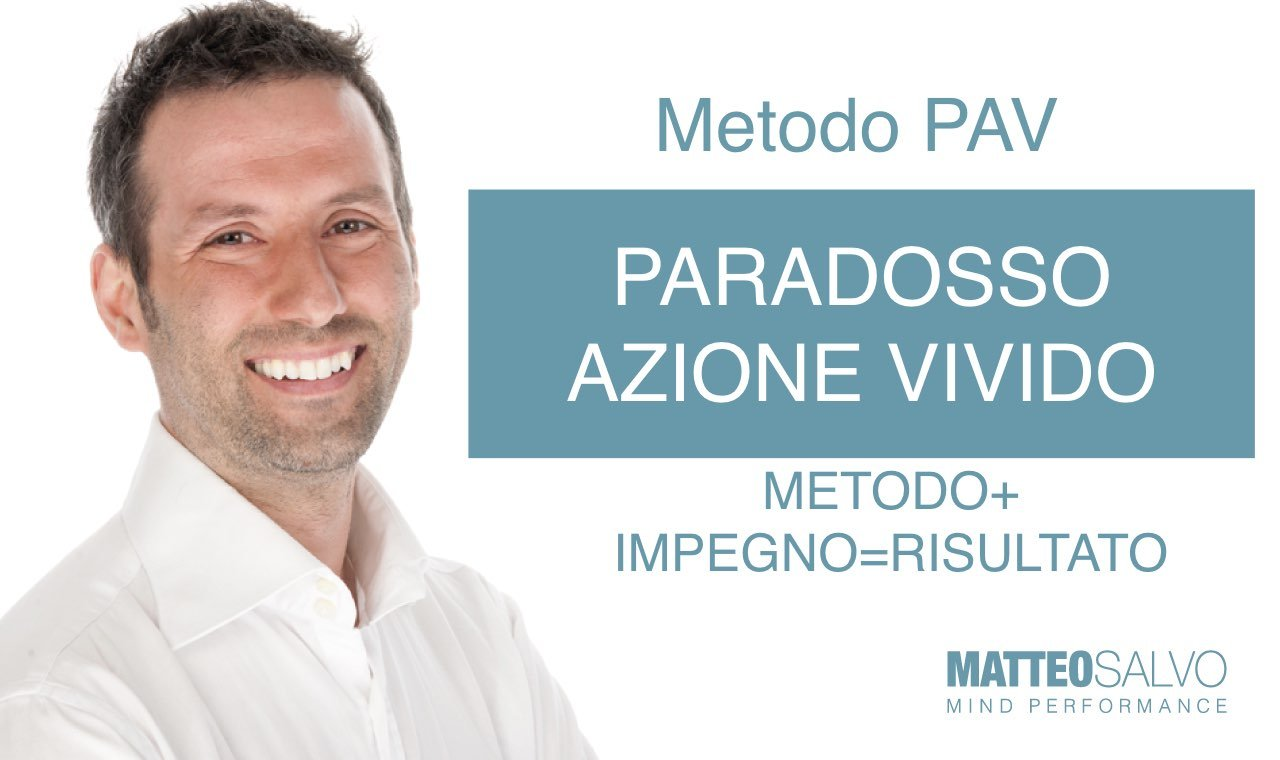 paradosso azione vivido pav