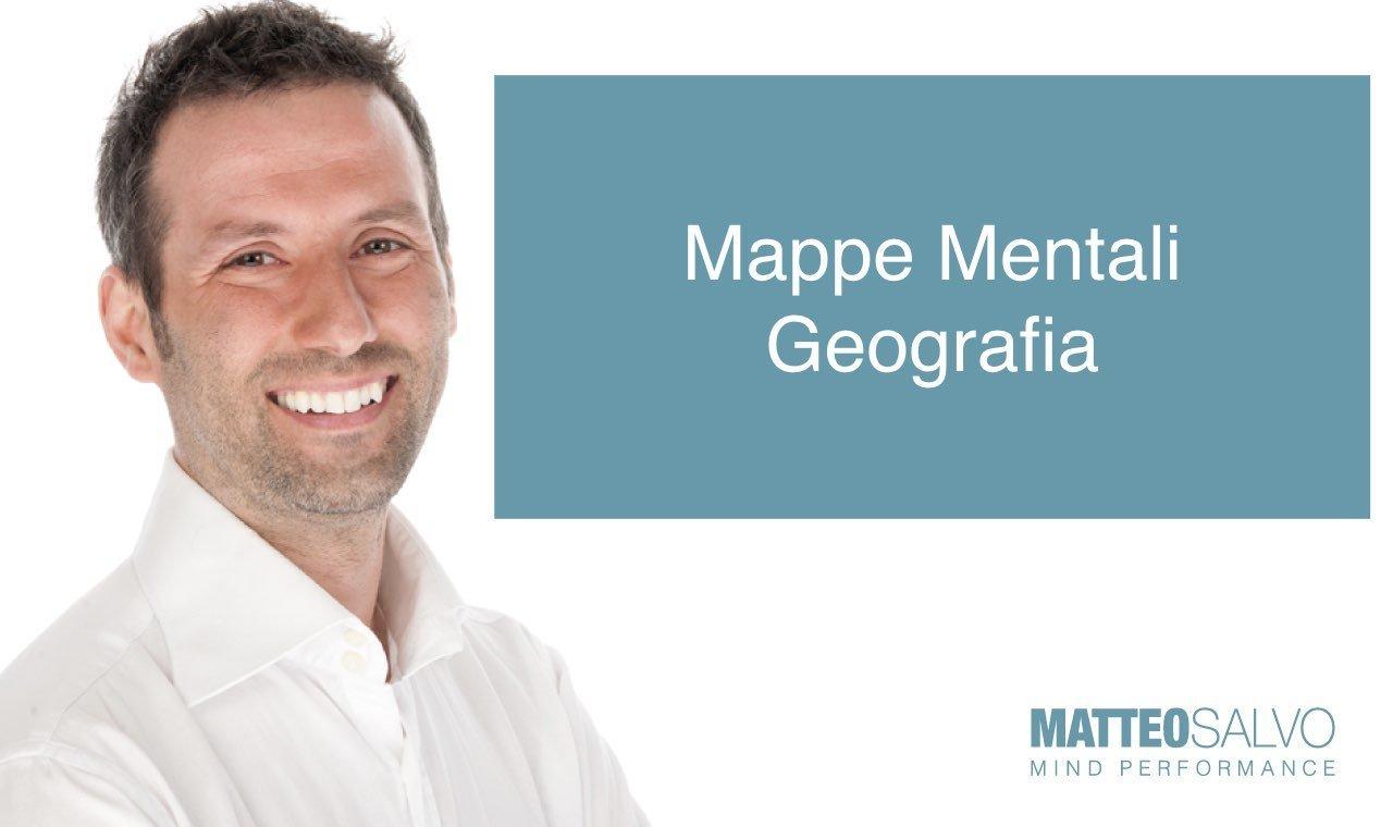 mappe mentali geografia