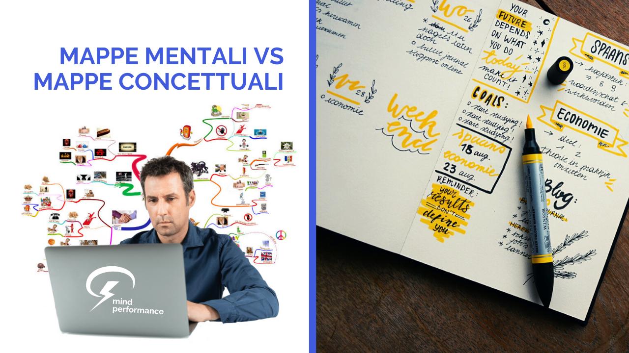 mappe mentali mappe concettuali