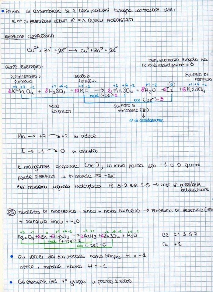 studiare chimica